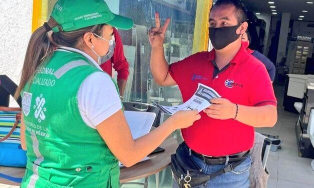 INVEA toma medidas sanitarias en establecimientos mercantiles