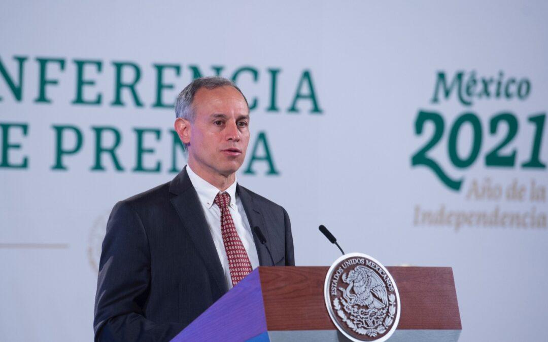 México se acerca a punto mínimo de la epidemia: López-Gatell