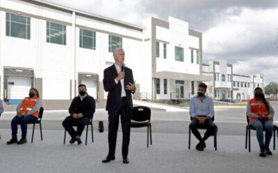 Alfredo del Mazo inauguró el Tepoz Park en Edoméx