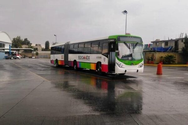 Transporte público de Edoméx aumentó su aforo a 80%