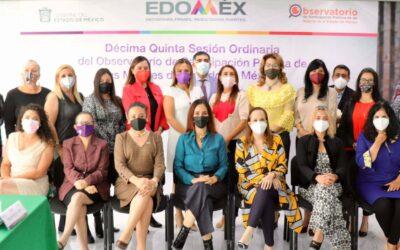 GEM: Trabajamos para homologar la agenda de género en el Edoméx