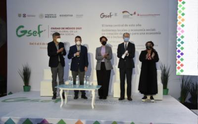 Clara Brugada: «Economía solidaria ayudará a las familias»