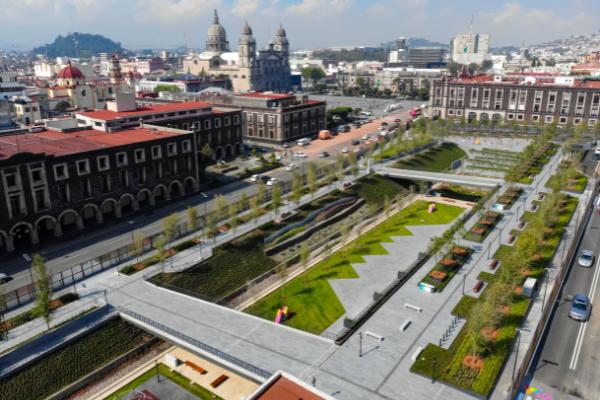 Nuevo Parque de Toluca afecta a comerciantes ambulantes