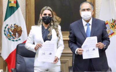 Evelyn Salgado asumió cargo como primera Gobernadora de Guerrero