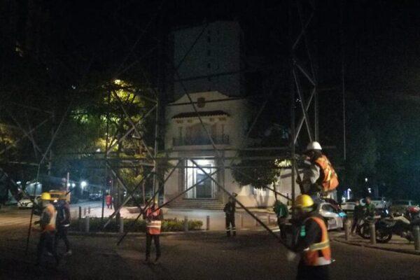 INVEA retiró estructura que permanecía en área de conservación