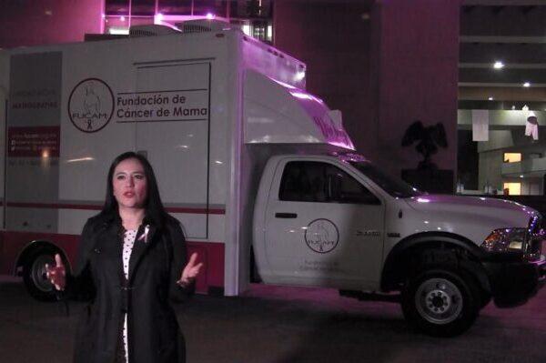 Sandra Cuevas lanza campaña contra el cáncer de mama