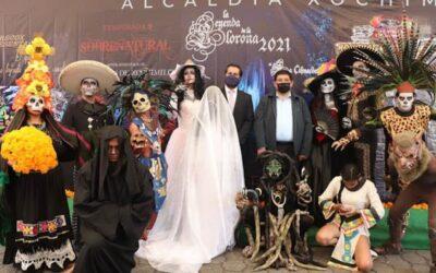 Presenta Xochimilco puestas en escena por Día de Muertos