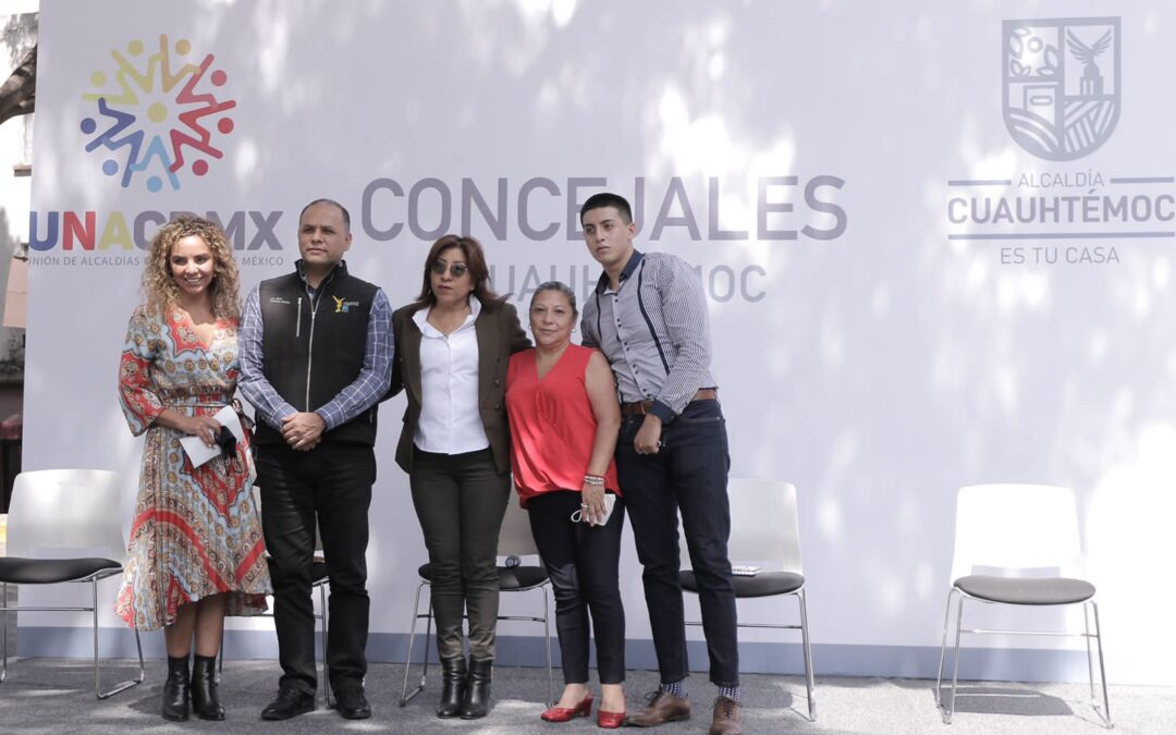 Se creó la Unión de Concejales UNACDMX en la Alcaldía Cuauhtémoc