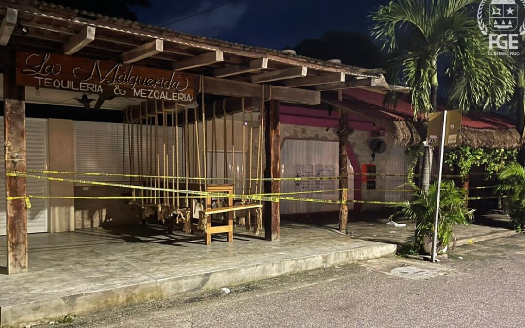 Fiscalía investiga choque de bandas delictivas en Tulum
