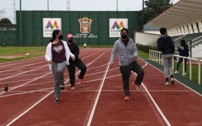 Desarrolla Edoméx atletismo en la Ciudad Deportiva