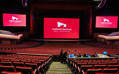 Empresas pelean su lugar en el Auditorio Nacional
