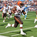 Chubb es baja con los Browns
