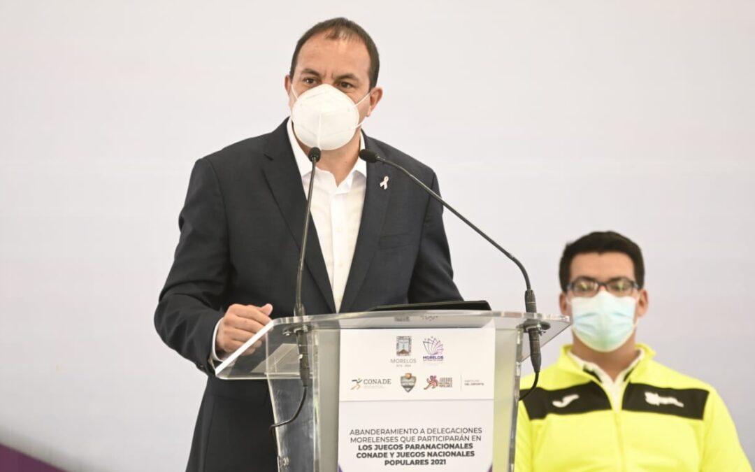 Cuauhtémoc Blanco dijo que hubo pacto con narcos en Morelos