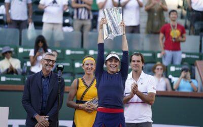 Histórico campeonato de Paula Badosa en Indian Wells