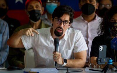 Opositor venezolano no asistirá a dialogo en México por salud