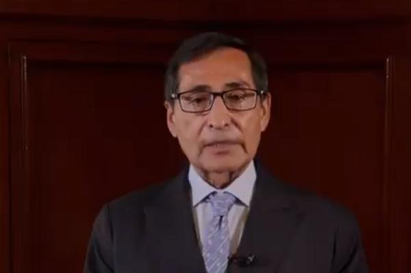 Rogelio Ramírez de la O participó en la plenaria del FMI