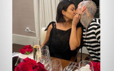 Un lujoso compromiso entre Kourtney Kardashian y Travis Barker