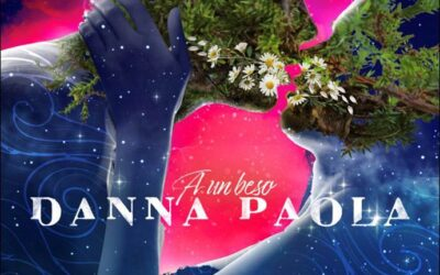 Danna Paola lanza «A un Beso» y se acerca al millón en un día.