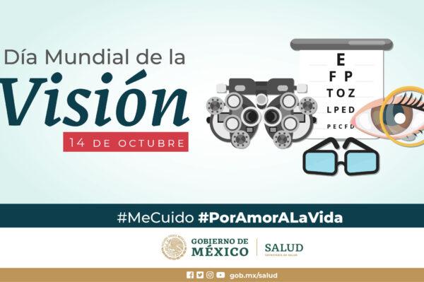 Día Mundial de la Visión Foto: @SSalud_mx