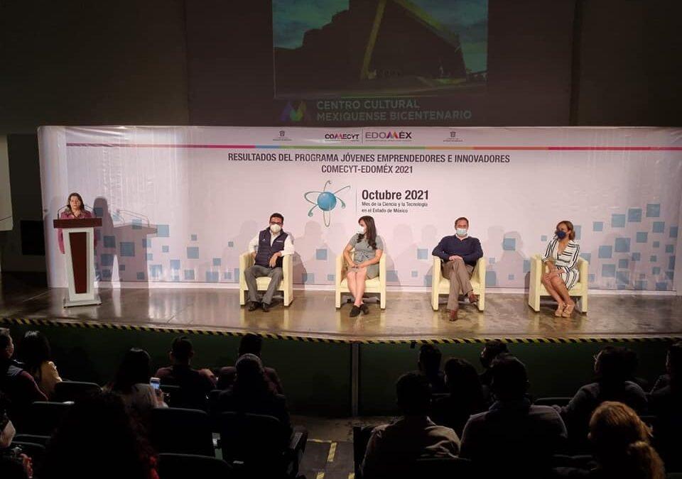 Comecyt entregó apoyos a jóvenes emprendedores
